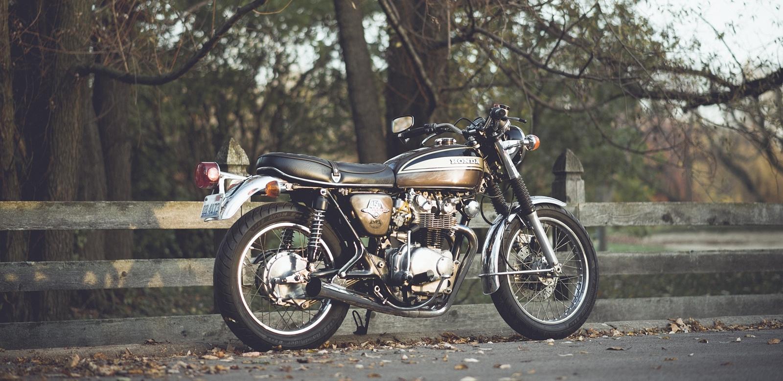 My 1974 Honda CB450 Supersport