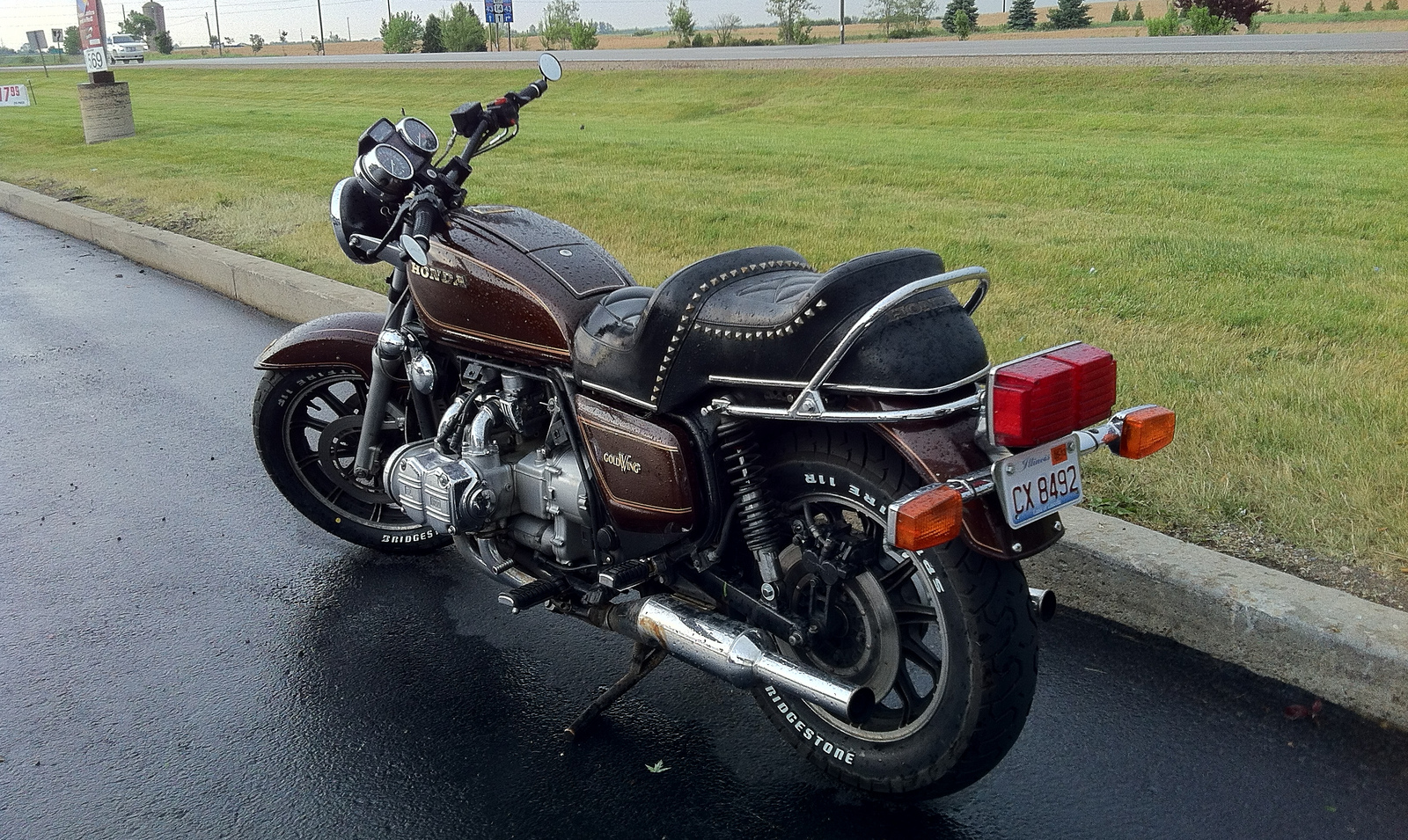 The GL1100 seat: before